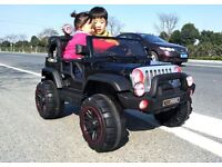 Jeep Style 2 Seater Kids Electric Ride On Car 12v BRAND NEW