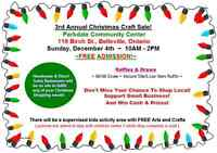 3rd Annual Christmas Craft Sale!!!