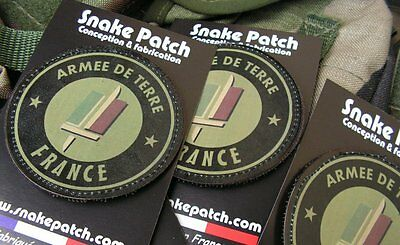 Snake Parche PVC -Ejército De Barro Francia - Caqui Feline Famas Opex...