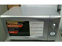 Sanyo microwave sylver