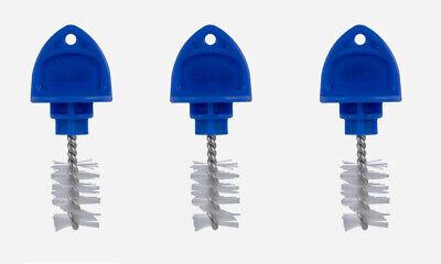 3 Pk - Plug Draft Beer Clean Cap Tap Faucet Brush Sanitary Taproom Tool