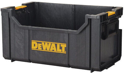 DEWALT Tote Tool Box Storage Bin Parts Organizer Large Heavy Duty 22 in. Garage