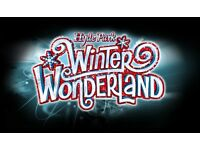 Winter wonderland tickets