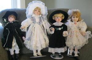Porcelain Collectable Dolls