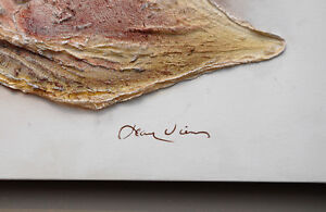 JEAN VIENS Custom Modern Abstract PAINTING Canvas Fiberglass Oakville / Halton Region Toronto (GTA) image 3