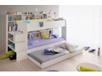 Kids Bunk beds with third under bed drawer