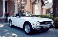 TR 6 for sale..Convertible REDUCED