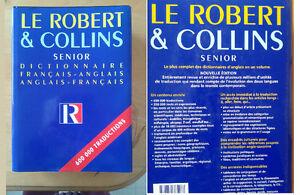 Dictionnaire Le Robert & Collins Senior