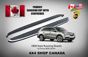 2014+ Acura MDX OEM Style Running Boards Side Step Bar