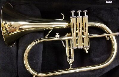 New Getzen 895-T Flugelhorn Outfit with Free Shipping