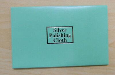 10x Anti-Tarnish Silver Polishing Cleaning Cloth Cleaner Platinum Jewelry New KZ