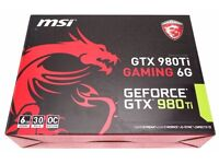GTX 980Ti MSI GAMING 6GB