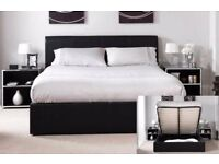 70% off now! Brand New Double OTTOMAN GAS LIFT STORAGE BED WITH WIDE RANGE OF MATTRESSES
