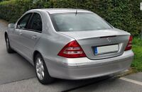 Mercedes C class w203 Sedan Rear Bumper pare-choc 2001-2007