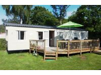 HOLIDAY IN BRITTANY. CARAVAN/MOBILE HOME BRITTANY COAST. 3*CAMPING QUINQUIS. LARGE 3 BED. AUGUST