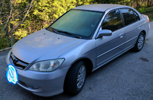 2004 Honda Civic 5 speed stick
