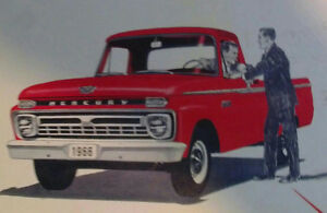 1965-66 Mercury Truck Wanted