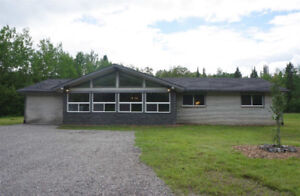 COMPLETELY RENOVATED 1900Sqft Core Floor on 7 Acres