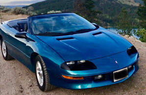 Z28 Convertible -Original Owner- 6 speed manual