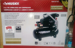 Husky portable Air compressor MODEL NUMBER BS1003.PRICE IS FIRM