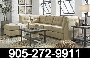 Alara Ashley fabric sofa $599