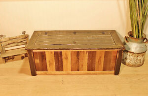 Hand crafted accent pieces made from reclaimed wood