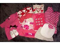 0-3m baby girl bundle