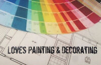 LOVES PAINTING | FREE ESTIMATE | RESIDENTIAL COMM|