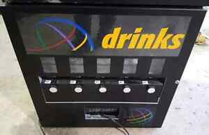 5 Selection Refrigerated Canned Beverage Vending Machine.