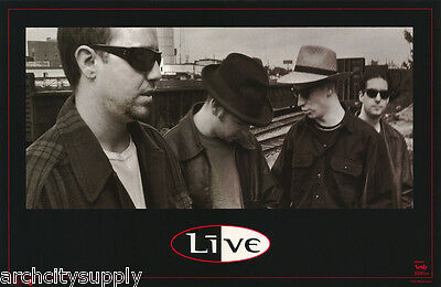 POSTER : MUSIC :  LIVE - PORTRAIT BY TRAIN   - FREE SHIPPING !   #7218   LW26 B