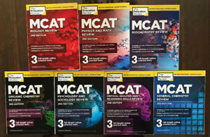 Princeton Review MCAT Preparation Books