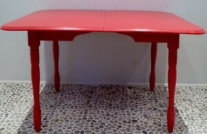 RAGING BULL Dining Table HARDWOOD Antique Vintage
