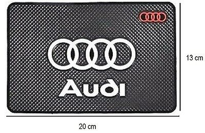 AUDI Anti Slip Car Dashboard Mat/ Pad for Mobile Phone Keys etc.Holder