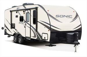 2017 Sonic Travel Trailer 220VBH (with Bunk beds)