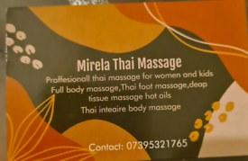 Thai massage from home and to your place ☺️