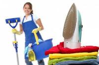 Recherche étudiante pour entretien ménager dès aujourd'hui