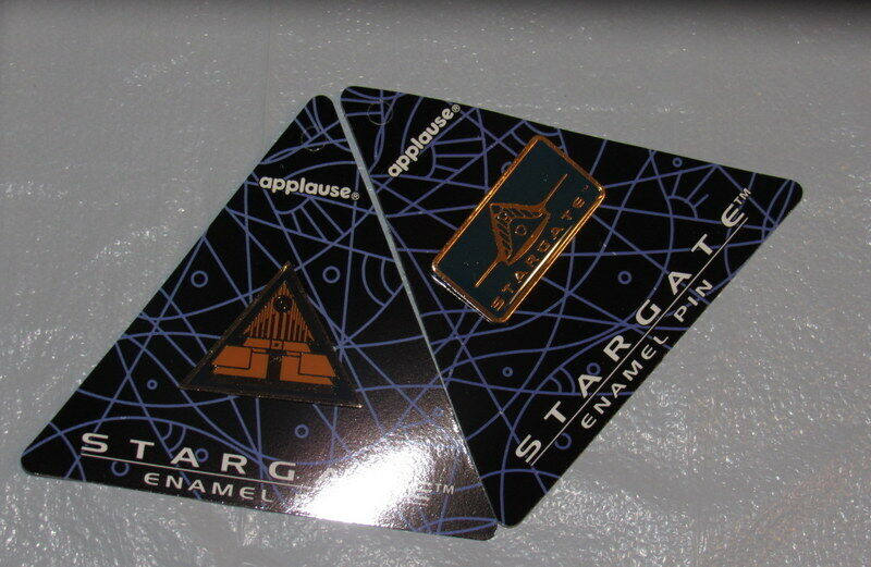 Stargate SG-1 Movie Two Enamel Pins by Applause Issued in 1994