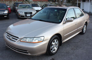 Honda Accord EX (leather, sunroof) AUTO***low km ONLY 128,000