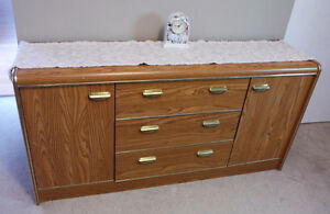 BUFFET 3 drawer/2 door - moving, must sell