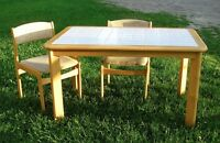 Tile Top Table & Chairs