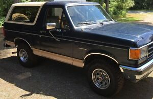 1989 Ford Full Size Bronco XLT Eddie Bauer