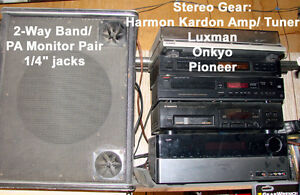 Home Stereo Components- Amps, Tuners, Cassette Decks, Monitors North Shore Greater Vancouver Area image 4