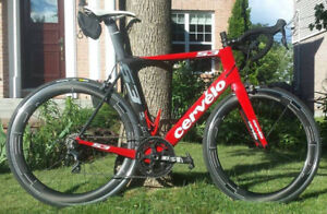 58cm Cervelo S3 Ultegra 6800 + roues HED Jet 6+ carbone