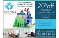 5 STAR SHINE MOVE IN/ OUT& POST CONSTRUCTION CLEANING SERVICE