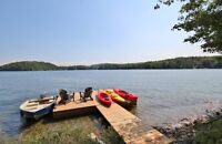 Rent Three Cottages for a Family Reunion on McGregor Lake