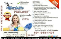 Cleaning Maid Service Housekeeping