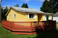 RARE Find!  Waterfront - 2 Bedroom Cottage - Shediac Bridge