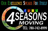 4 Seasons moving looking to hire full time driver.