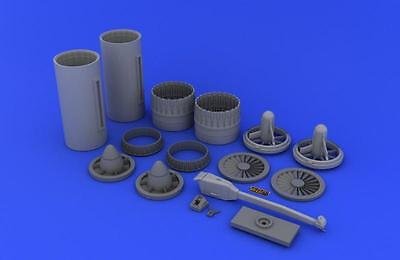 EDUARD BRASSIN 632008 Exhaust Nozzles for Tamiya Kit USN (early) F-4 in 1:32