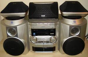 Philips 5-Speaker Mini Hi-Fi System